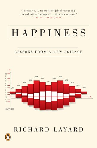 Happiness - Lessons from a new science cover